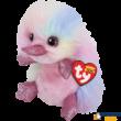 Beanie Boos - Petunia plüss kacsacsőrű emlős, 15 cm-es