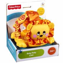 Fisher-Price - Forgó plüss oroszlán barát - Mattel