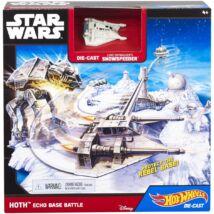 Hot Wheels - Star Wars Echo Base Battle játékszett - Mattel