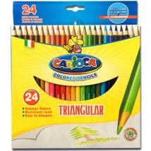 Carioca - Háromszög színes ceruza szett 24db (42516)