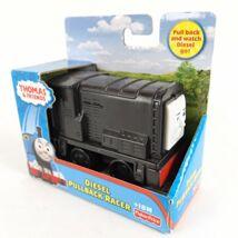 Fisher-Price - Thomas: Diesel felhúzható mozdony - Mattel