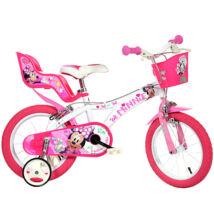 Minnie egér kerékpár 14-es méretben