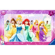 Ravensburger - Disney hercegnők 15 db-os puzzle
