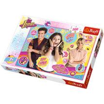 Trefl - Soy Luna: Görkorizás 200 db-os puzzle