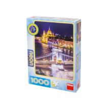 Dino Budapest neon 1000db-os puzzle