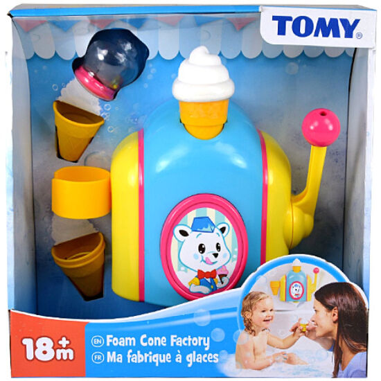 Tomy - Habfagyi gyár fürdőjáték