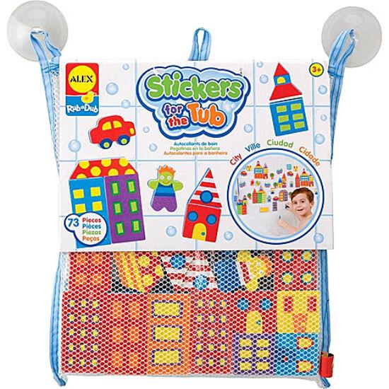 Alex - Tapassz a csempére- város bébi játék