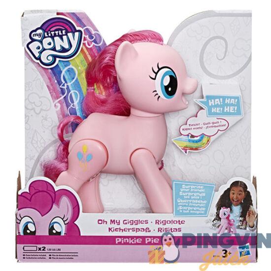 Hasbro - Én kicsi pónim: Kacagó Pinkie Pie póni figura 20cm (E5106)