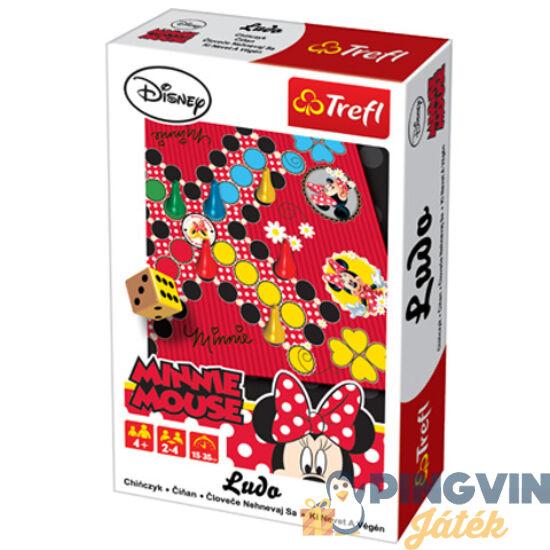 Trefl - Minnie Mouse Ki nevet a végén, úti társasjáték
