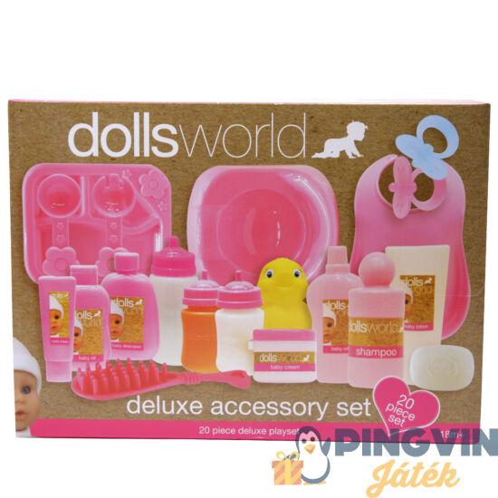 Dolls World - Deluxe babaápoló szett 20 részes
