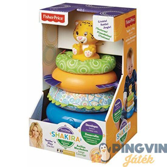 Fisher-Price - Shakira rágható gyűrűpiramis - Mattel