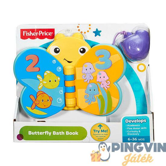 Fisher-Price - Pillangós pancsikönyv - Mattel