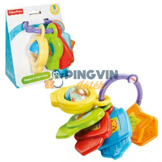 Fisher-Price - Játékos kulcscsomó - Mattel
