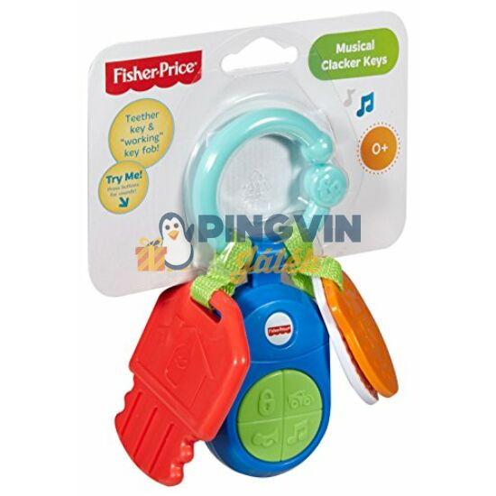 Fisher-Price - Zenélő kulcsok - Mattel