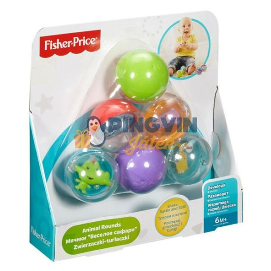 Fisher-Price - Állatos golyók - Mattel
