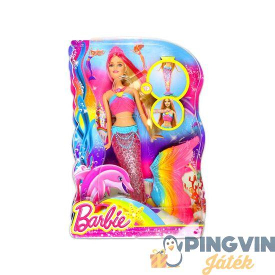 Barbie - Szivárványsellő baba