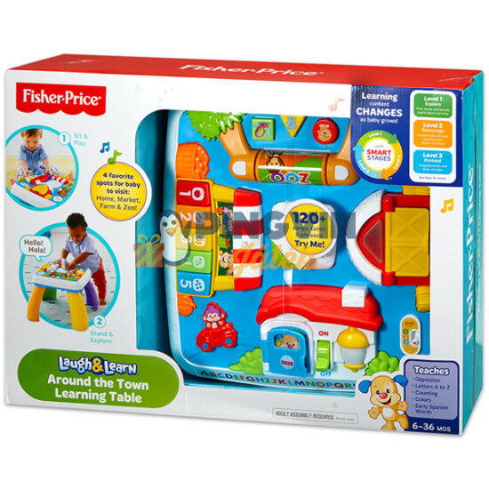 Fisher-Price - Intelligens asztalka - Mattel