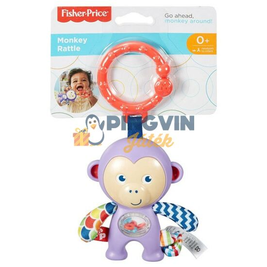 Fisher-Price - Majmos csörgő - Mattel