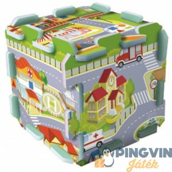 Trefl - Városi Móka szivacs puzzle 30*30 cm