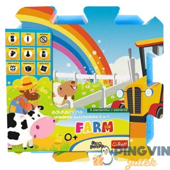 Trefl - Farm móka szivacs puzzle 30*30 cm