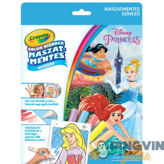 Crayola - Color Wonder Maszatmentes színező - Hercegnők