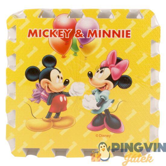 Disney - Mickey egér habszivacs szőnyeg 9 db