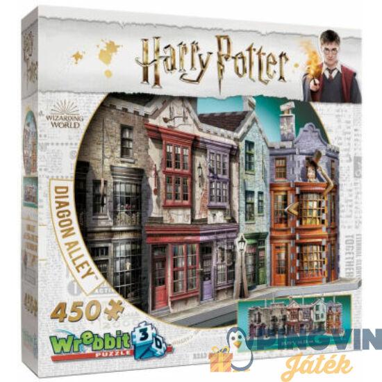 3D exkluzív puzzle: Harry Potter-Abszol út 450 db-os