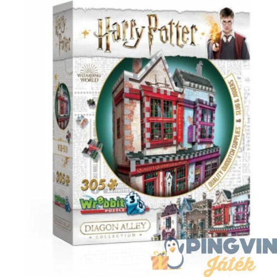 3D exkluzív puzzle: Harry Potter-Kviddics a javából sportszaküzlet 305 db-os (W3D-0509)
