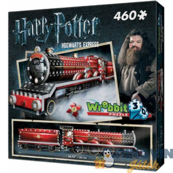 3D exkluzív puzzle: Harry Potter-Roxfort expressz 460 db-os