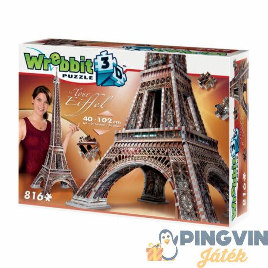 3D exkluzív puzzle: Eiffel torony 816 db-os