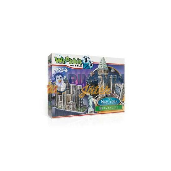 3D exkluzív puzzle: New York Financial/Times Sq. 925 db-os