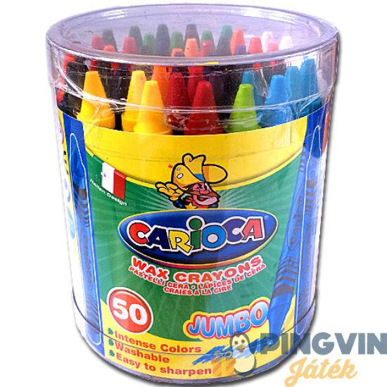 Carioca - Jumbo zsírkréta készlet 50db (42388)