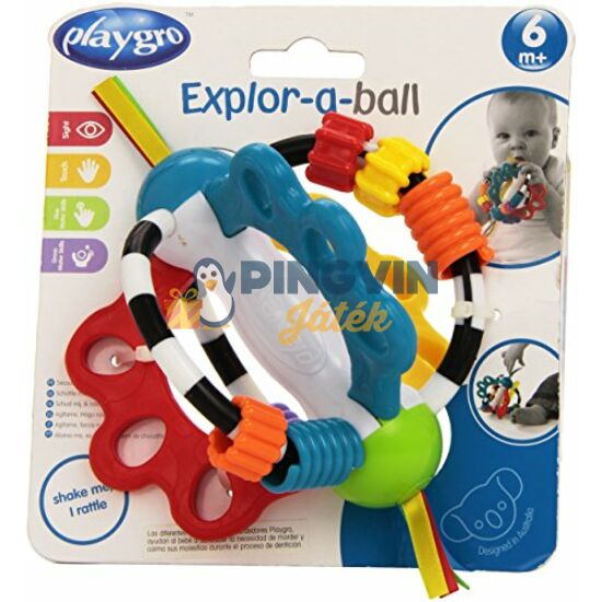 Playgro - Felfedező labda 4082426
