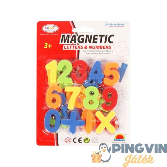 Mágneses betűk készlet 4 cm