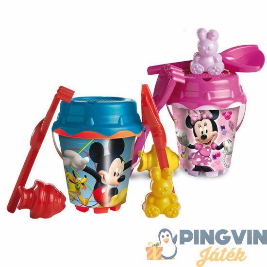Mickey vagy Minnie egeres 6 db-os homokozó készlet