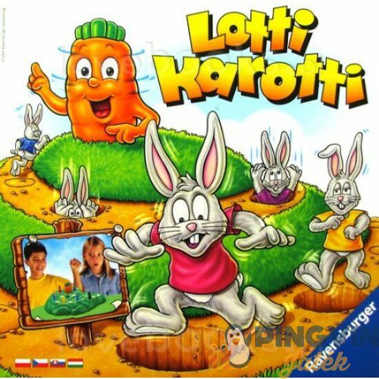 Ravensburger - Lotti Karotti társasjáték