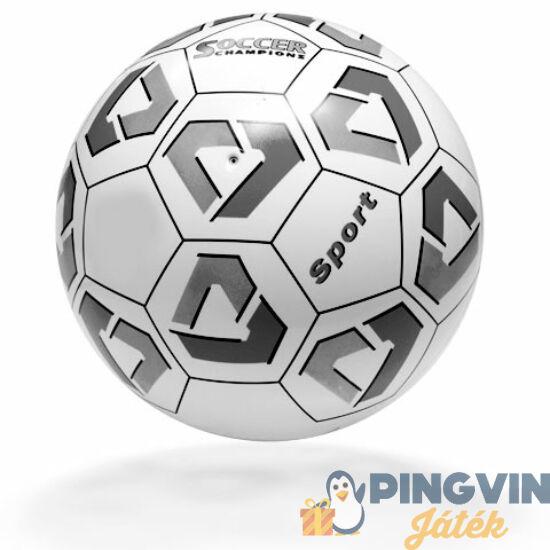 Sport focilabda fekete-fehér 14cm-es