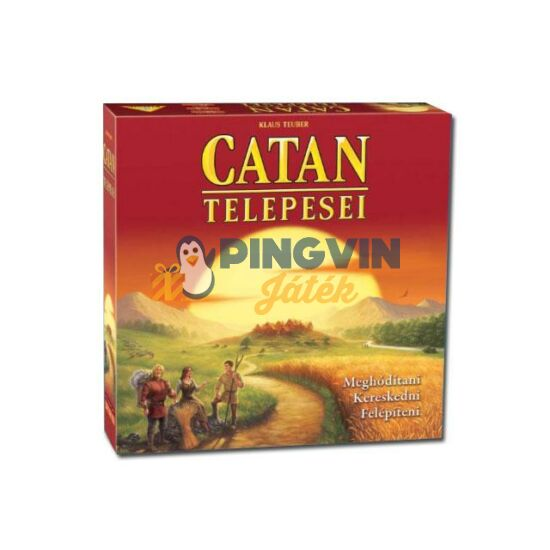 Piatnik - A Catan telepesei társasjáték