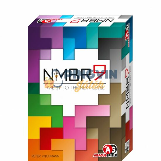 Abacusspiele NMBR 9 absztrakt társasjáték