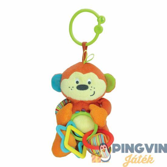 Winfun - Plüss csörgő - majom