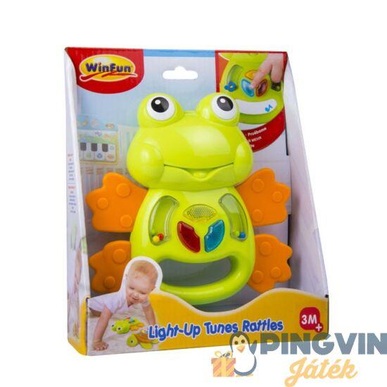 Winfun - Zenélő világító teknős rágóka