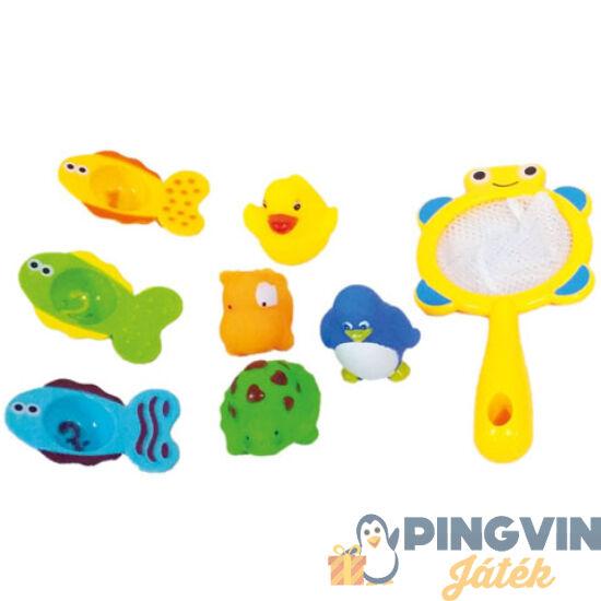 Állatos fürdőjáték szett - Bino Toys