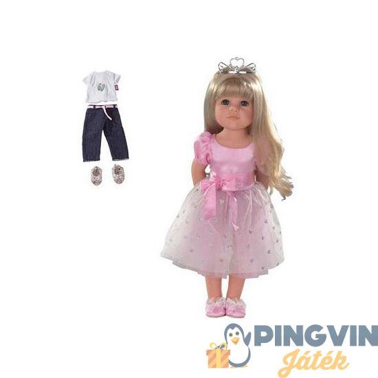 Götz Hannah hercegnő szőke hajú baba 50 cm 1359072