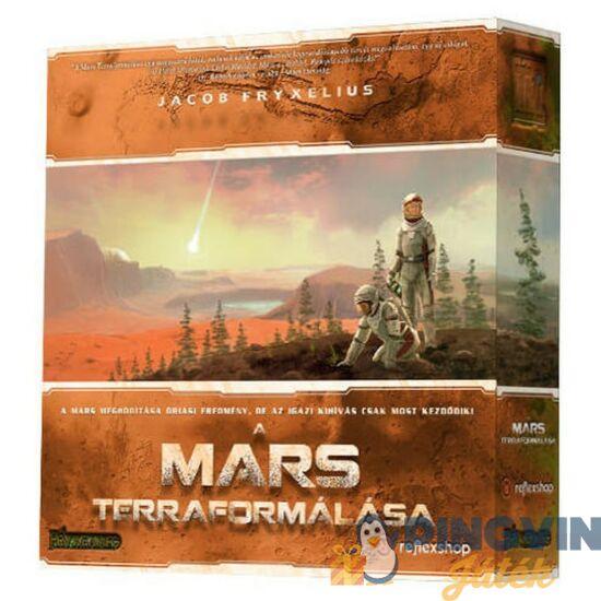 A Mars terraformálása, stratégia társasjáték
