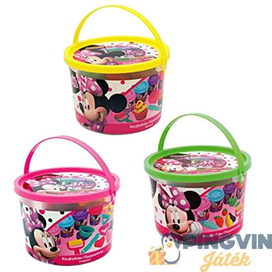 AS Toys - Minnie egér kreatív vödrös gyurma szett (1045-03571)