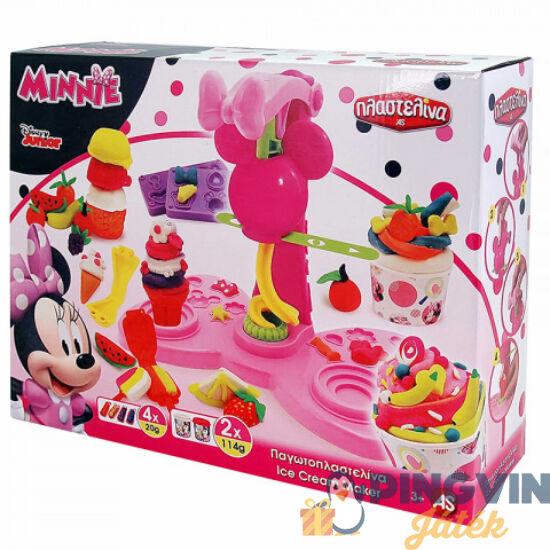 AS Toys - Minnie Egér fagyi készítő gyurmaszett (1045-03577)