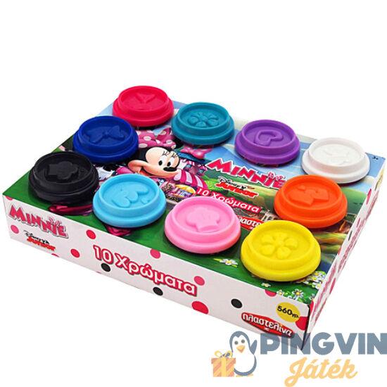 AS Toys - Minnie egér 10db-os gyurmaszett tégelyben (1045-03575)