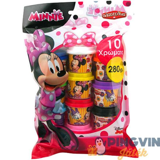 AS Toys - Minnie egér Party gyurmaszett 10db-os (1045-03569)