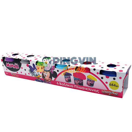 Minnie 6db-os gyurmaszett - AS Toys