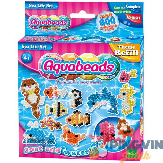 Aquabeads óceán utántöltő készlet 600db gyöngy 79138